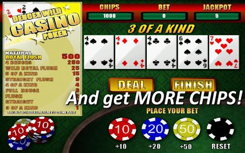 Deuces Wild Casino Poker- screenshot thumbnail