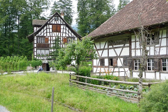 Photo: Schöne Riegelhäuser