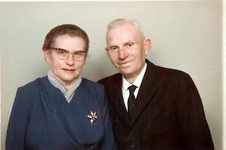 Photo: Peder og Elise Andersen, Stævnbakgaard, Pederstrup