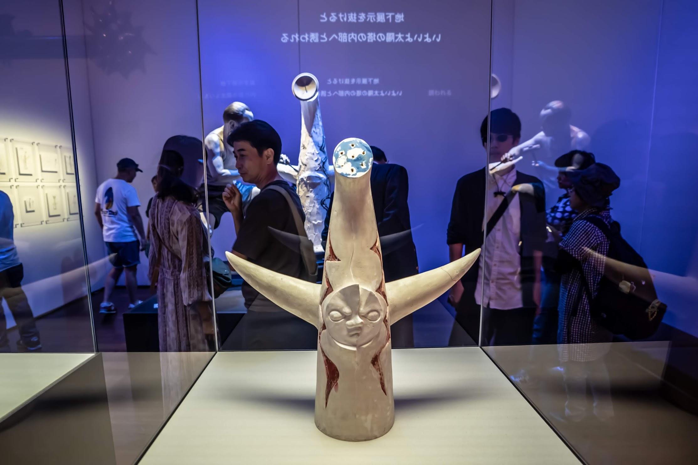 Abeno Harukas Art Museum Tower of the Sun5
