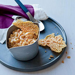 Stovetop Mac and Cheese with Cheese Crisps
