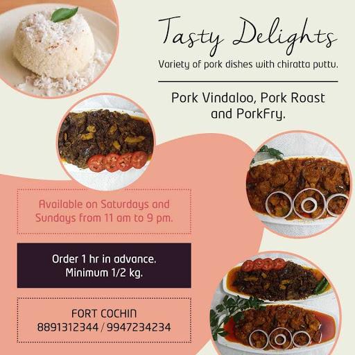Tasty Delights menu 1