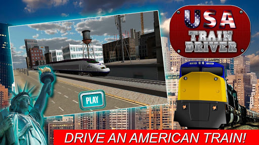 USA Train Driver Simulator 3D