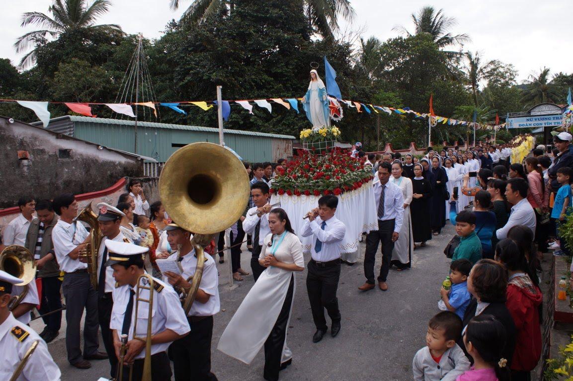 Ngày Hành Hương Mừng Bổn Mạng Giáo Phận Long Xuyên, tại GX Hòn Chông - Ảnh minh hoạ 3