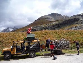 Photo: Le célèbre Land de Camino, qui vivait un de ces derniers trips vélos
