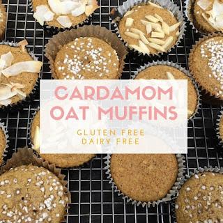 Cardamom Oat Muffins