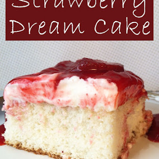 Famous Strawberry Dream Cake.
