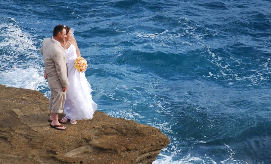 by Darren Merrills - Wedding Bride & Groom