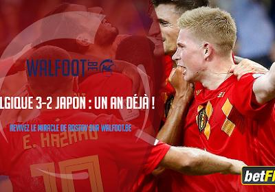 🎥 Un an déjà : revivez le miracle de Rostov et la qualification des Diables face au Japon
