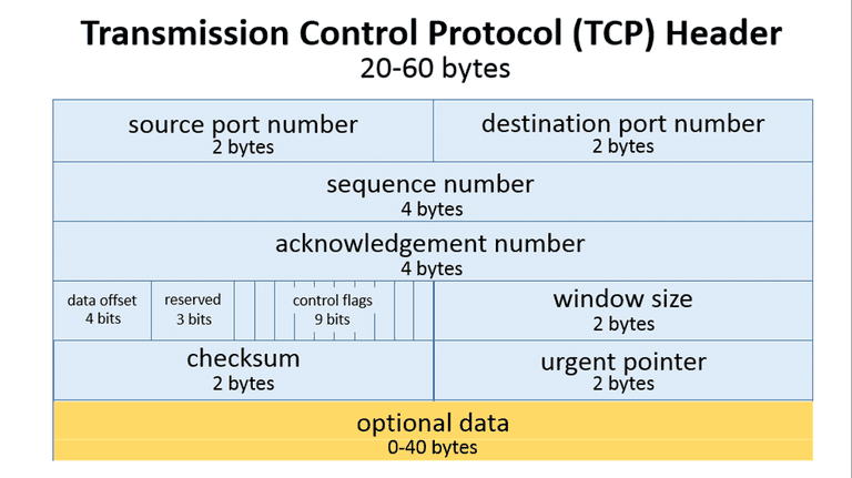 """TCP Packet Structure"""