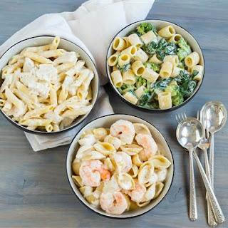 Chicken Shrimp Broccoli Alfredo Recipes.