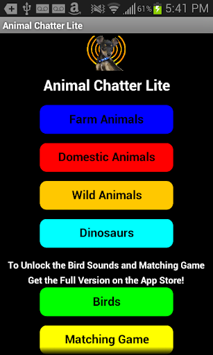 Animal Chatter Lite