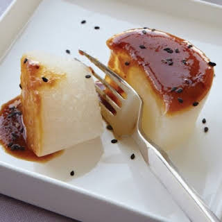 Traditional Braised Daikon from 'Hiroko's American Kitchen'.
