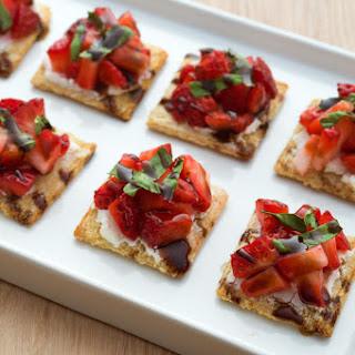 Strawberry Balsamic Bites Recipe