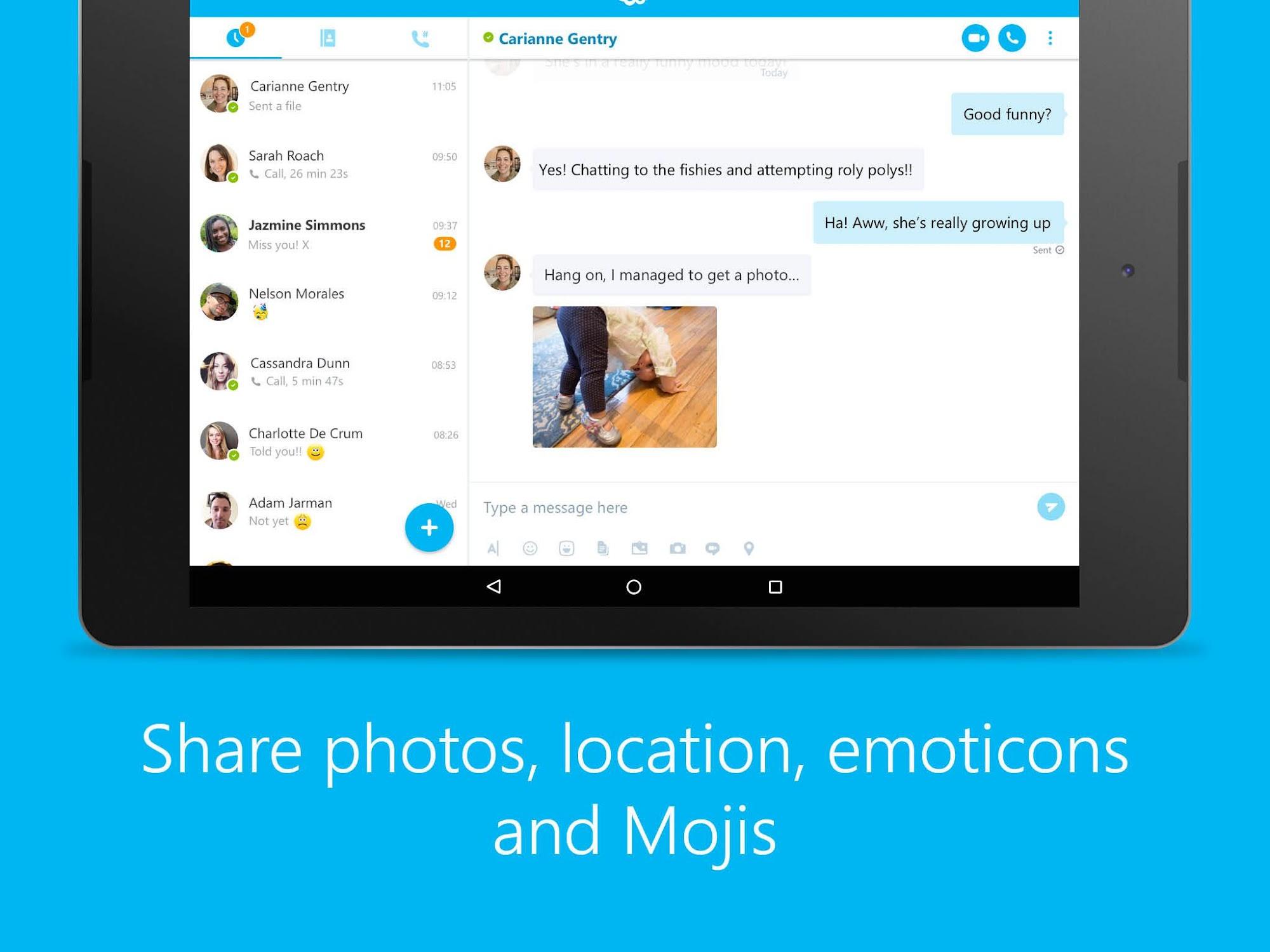 Skype - free IM & video calls screenshot #12