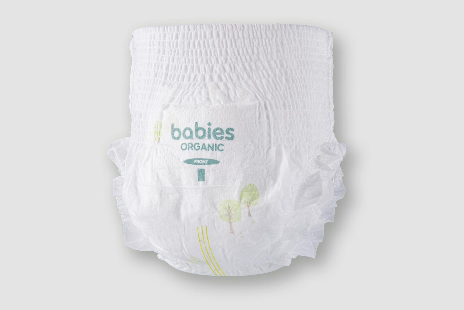 Kết cấu siêu mỏng nhẹ của Tã Bỉm Babies Organic