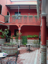 Photo: typowo andaluzyjskie patio w hoteliku Al Andaluz Jerez