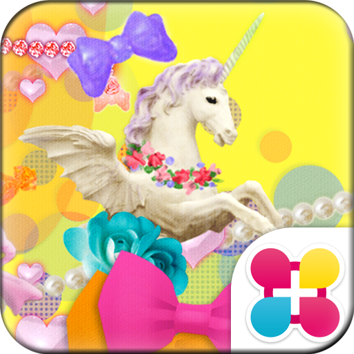 Cute Candy Merry-Go-Round Icon