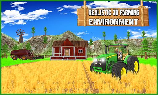 Hill Farmer Simulator 3D