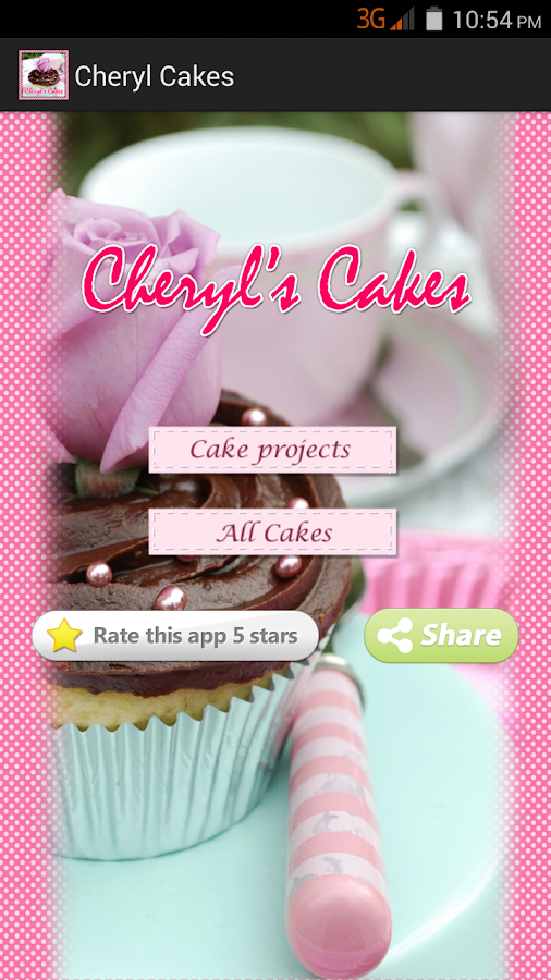 Cheryl Cakes- screenshot