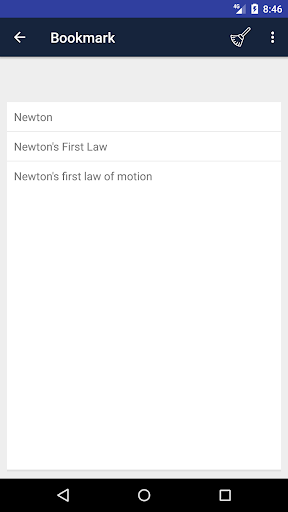 Screenshot 4 Physics Dictionary