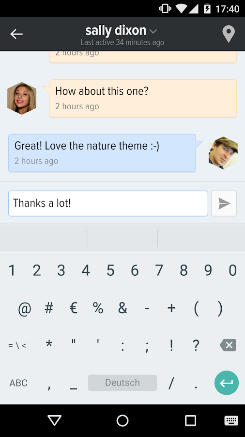 Protonet Messenger- screenshot
