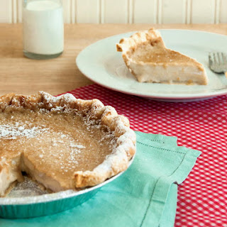 Hoosier Sugar Cream Pie.