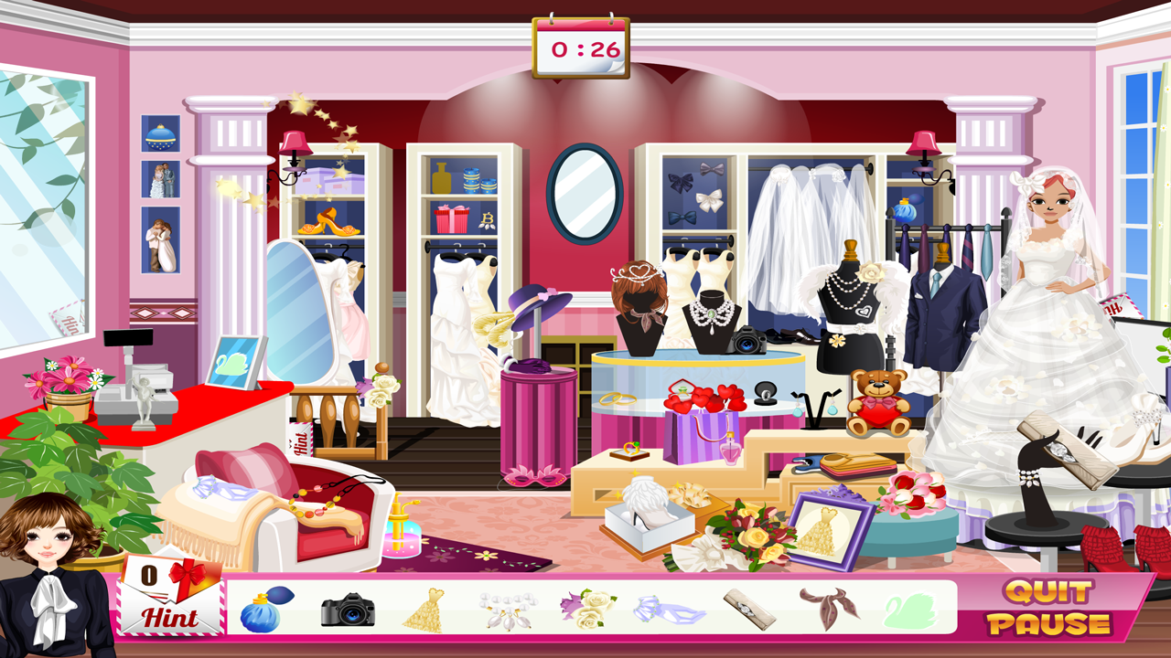 wedding planner wedding game screenshot