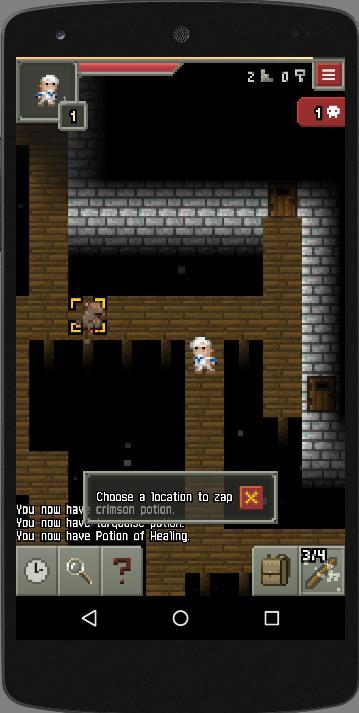 Unleashed Pixel Dungeon- screenshot