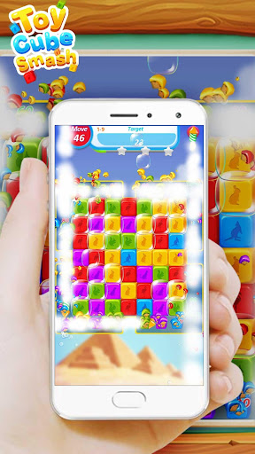 Toy Cube Smash: Attractive Cube Crush Puzzle Game 1.0.4 screenshots 1