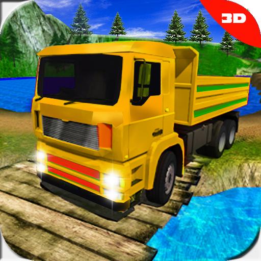 Monster hill station drive: Crazy truck simulator