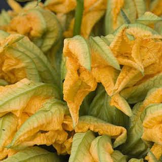 Zucchini Flower Sauce.
