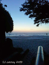 Photo: Grateful for the light and the beach and my vision.