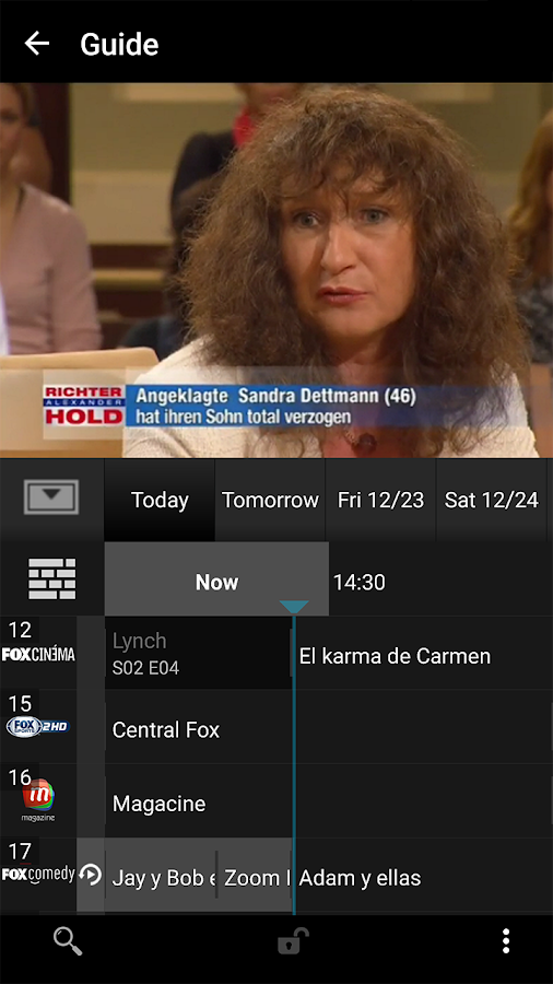 YourTV- screenshot