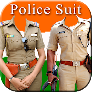 Men Police Suit Photo Editor Ideas