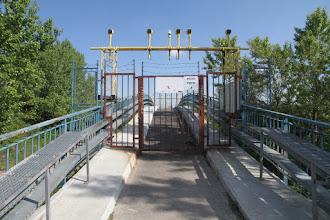 Photo: Navádzacia lávka letiska cez Malý Dunaj