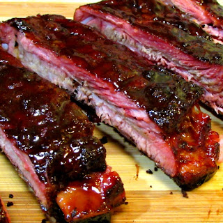 Chinese BBQ Ribs - Five Spice Pork Spare Ribs with Hoisin Honey Glaze.
