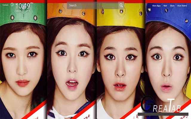 Red Velvet Wallpapers Theme |GreaTab