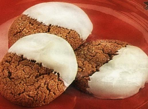 Dipped Gingersnap Cookies Recipe