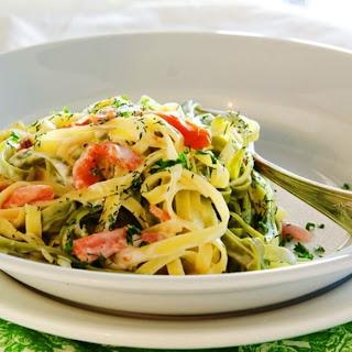 Italian Delicacy – Tagliatelle with Smoked Salmon Recipe