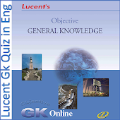 Lucent Gk Quiz in English and Current Affairs