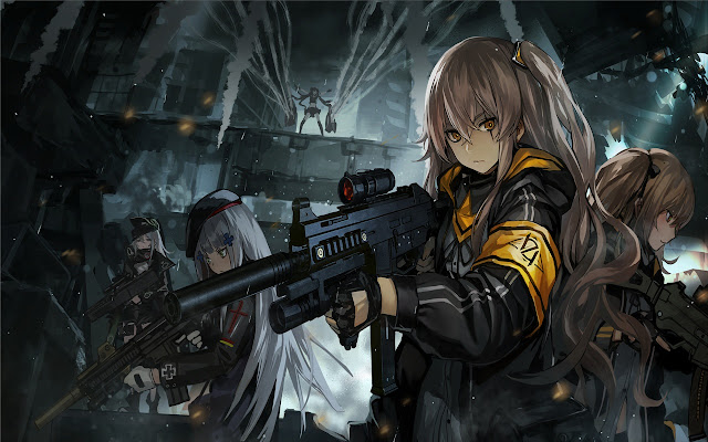 Gun Girls Themes & New Tab