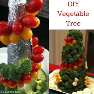 The Vegetable Christmas Tree.