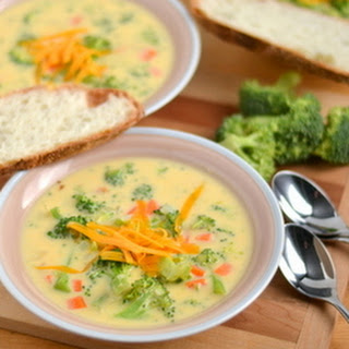 Cheddar Broccoli Soup.