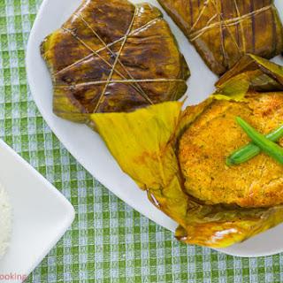 Soya Paturi | Steamed Soya in Banana Leaf Recipe