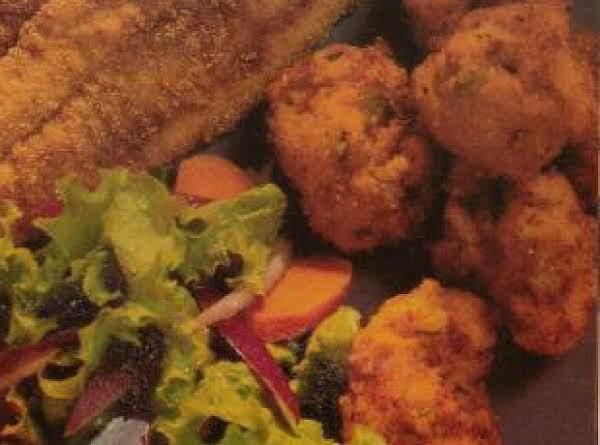 Tracy Lawrence's Kicked Up Hushpuppies Recipe