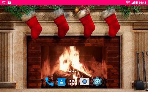 Weihnachtskamin HD LWP – Apps bei Google Play
