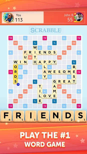 Scrabble® GO - New Word Game Android App Screenshot