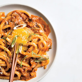 Kimchi Udon with Scallions recipe | Epicurious.com.