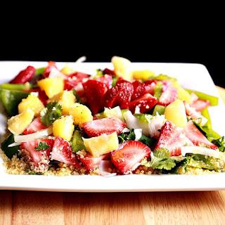 Strawberry Salad With Bulgur